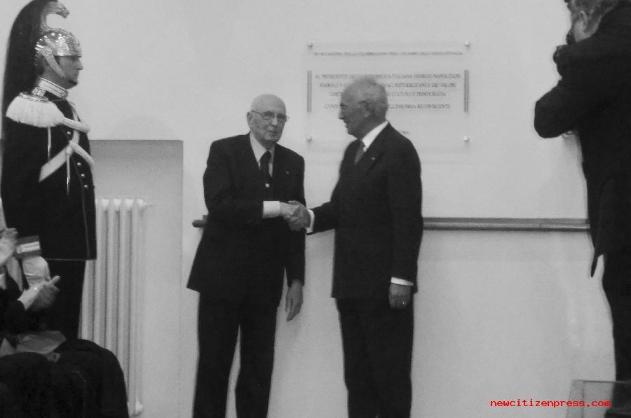 Visita del Presidente Napolitano