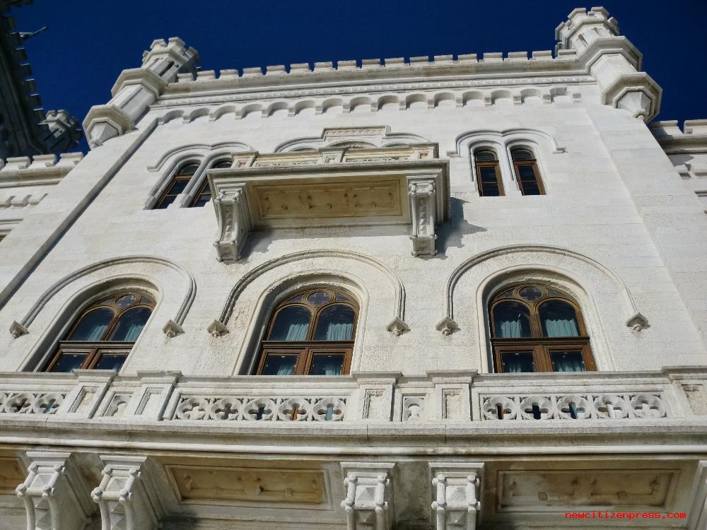 Balcone della stanza da letto del duca che si affaccia sul m